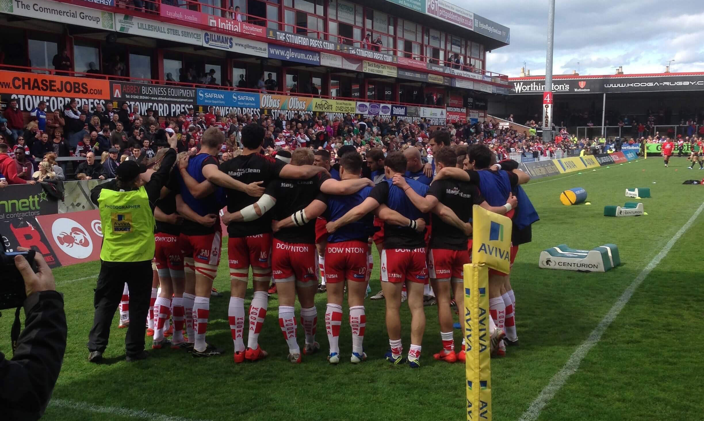 gloucester rugby trips